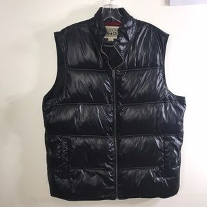Converse One Star Puffer Vest Large